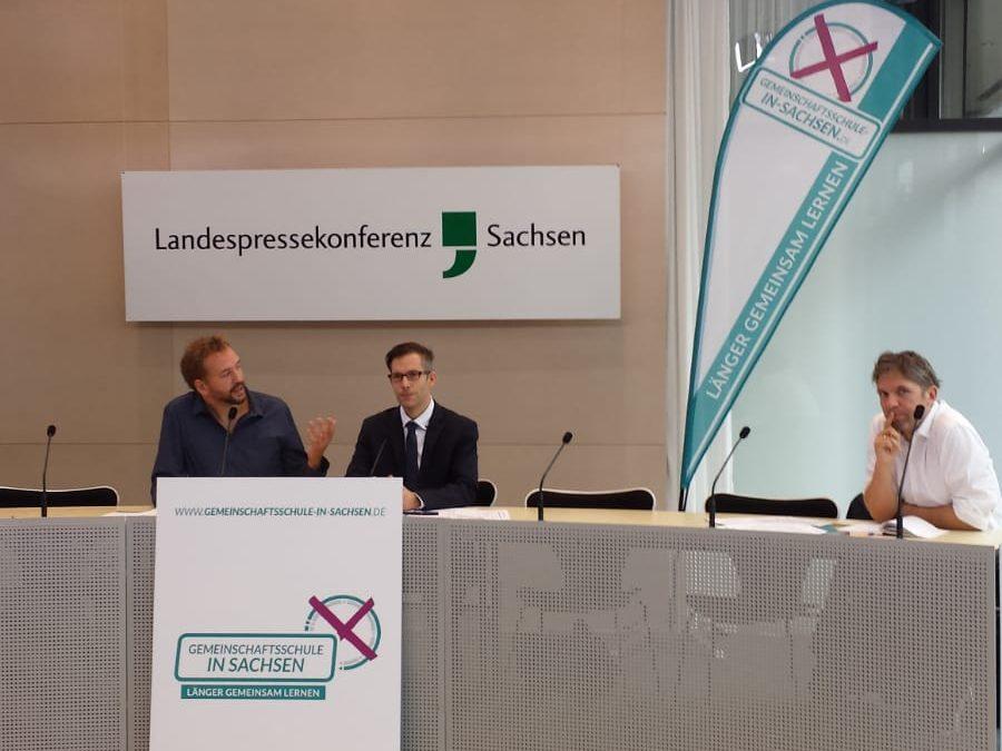 "Bündnis ""Gemeinschaftsschule in Sachsen – Länger gemeinsam Lernen"" beginnt Unterschriftensammlung"